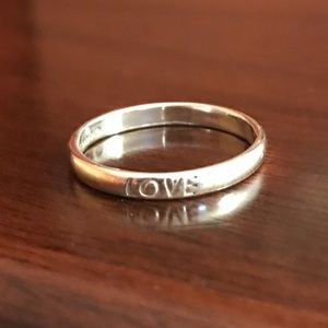 Jewelry - Silver Love Ring